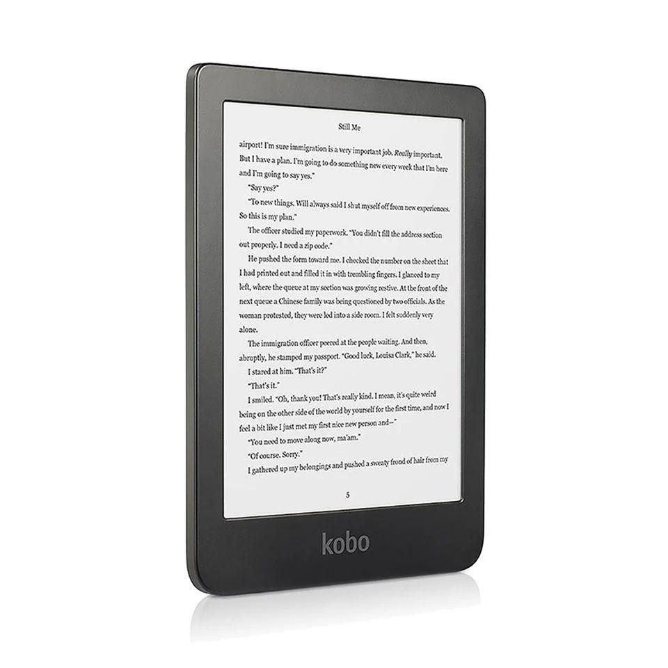 """Kobo Clara HD Ereader 6 """" e-tinta 8GB MicroUSB Negro - DESDE ESPAÑA"""