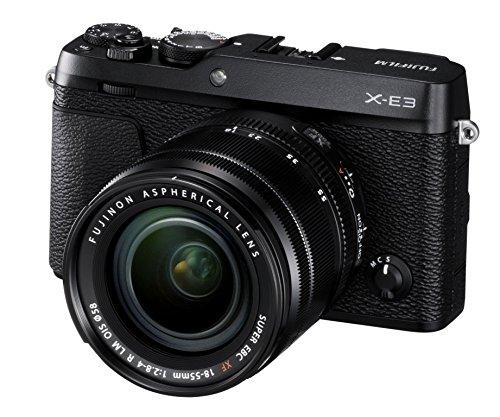 Fujifilm X-E3 - Cámara Evil de 24.3 MP y kit cuerpo con objetivo Fujinon XF 18-55 mm