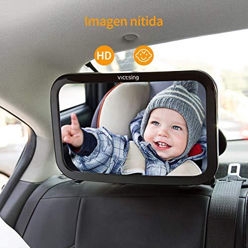 Espejo retrovisor para vigilar al bebé - Oferta Flash