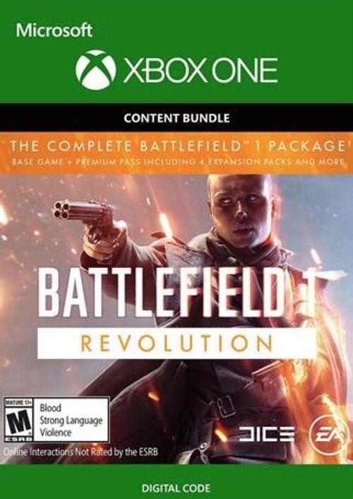 Battlefield 1:Revolution pack (bonus B1943) XBOXONE