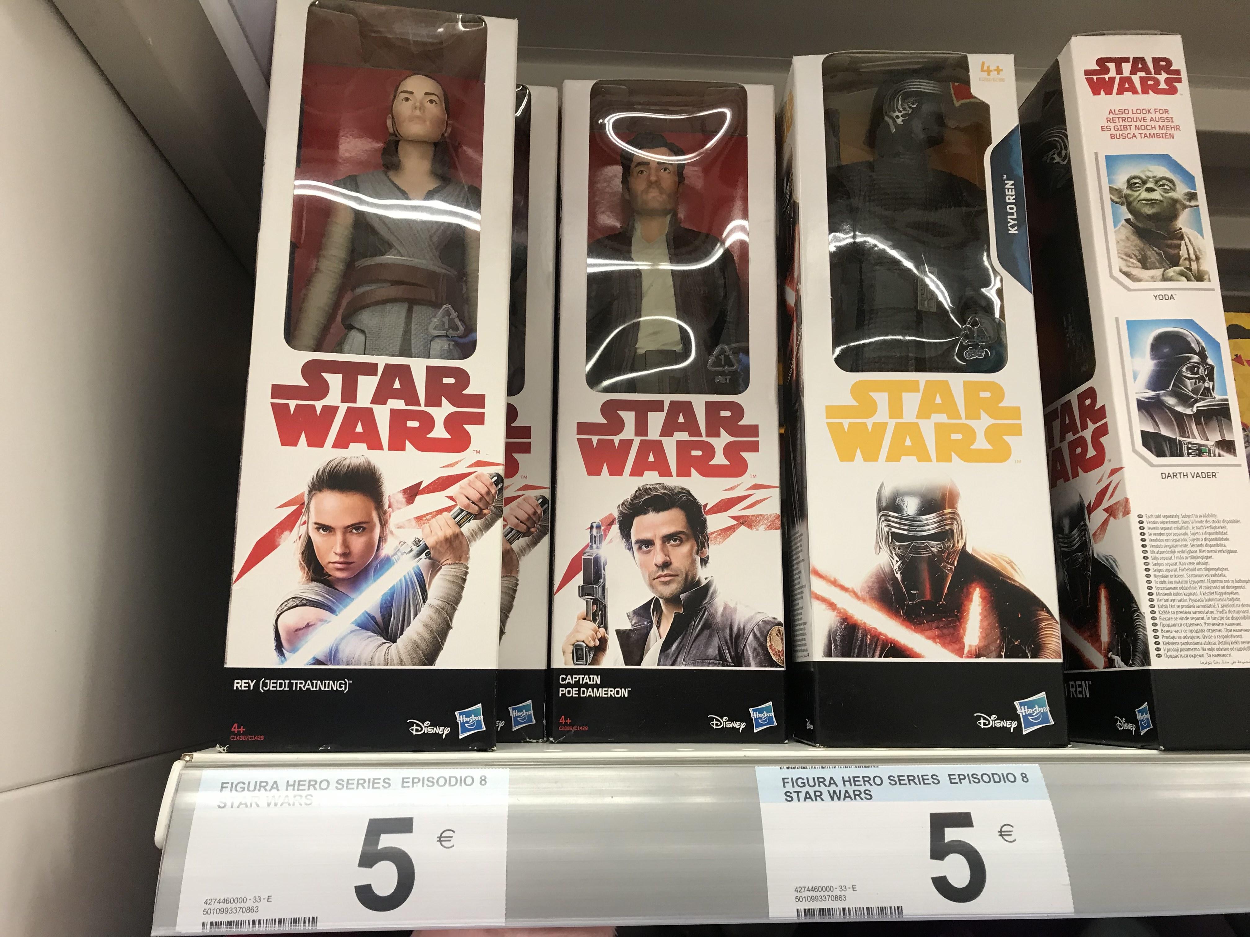 ¡Figuras Starwars Hero Series por 5€! Carrefour España