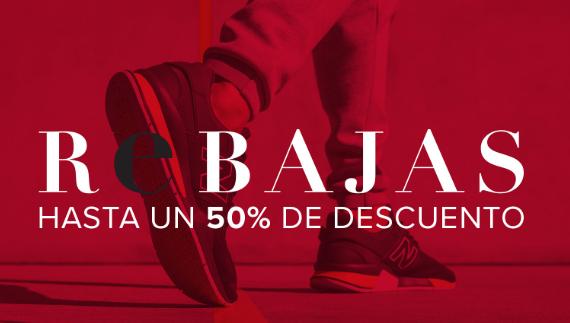 Hasta un 50% + 15% extra en la web de New Balance