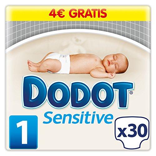 Dodot Sensitive - Pañales para bebé, talla 1 (2 - 5 kg)