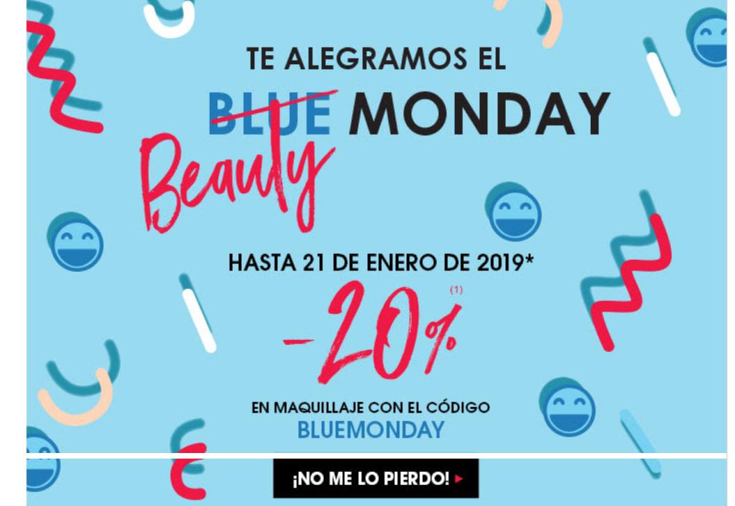 Descuentos en Sephora por el Blue Monday