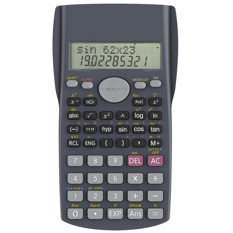 Calculadora Cientifica, Helect 2 líneas Calculadora científica - H1002