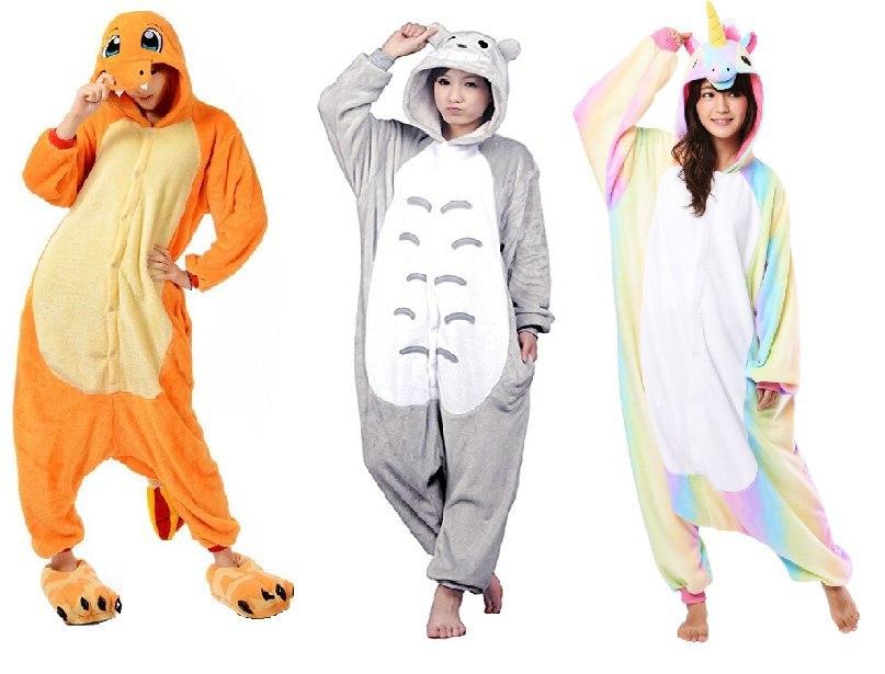 Pijamas animales adulto y niños solo 9€