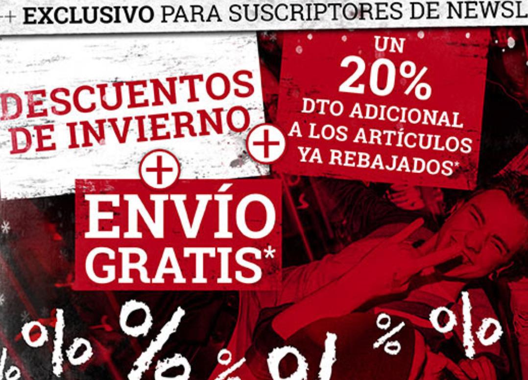 EMP Gastos envío gratis y descuento adicional 20% (solo hoy)