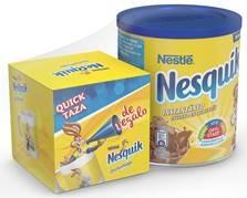 Taza de regalo con la compra de Nesquik 800 gr