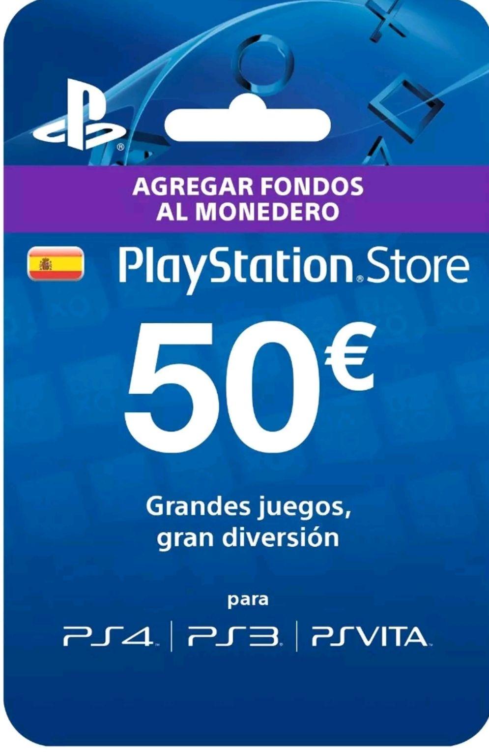 50€ PSN en Ebay (Cuentas seleccionadas)