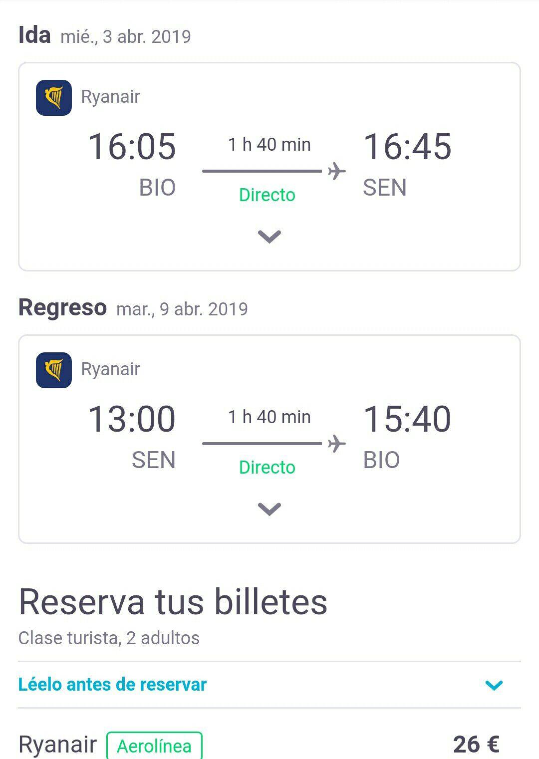 Viaje Londres ida-vuelta 26€