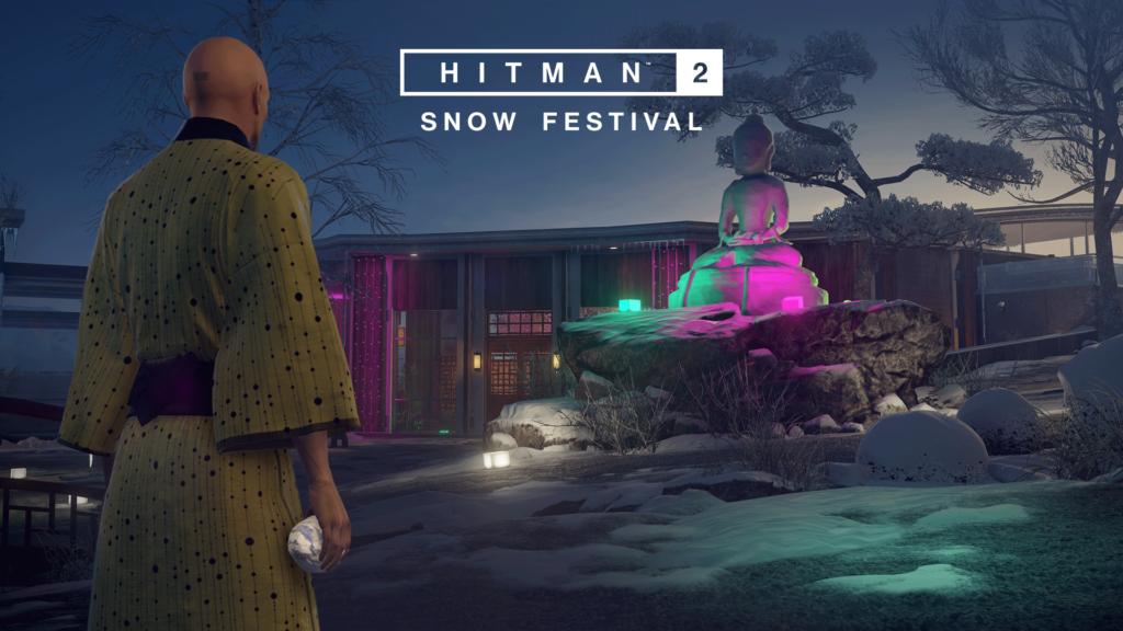 Hitman 2 Snow Festival : Misión Hokkaido / Episodios 6 Gratis para Xbox One / PS4 o PC