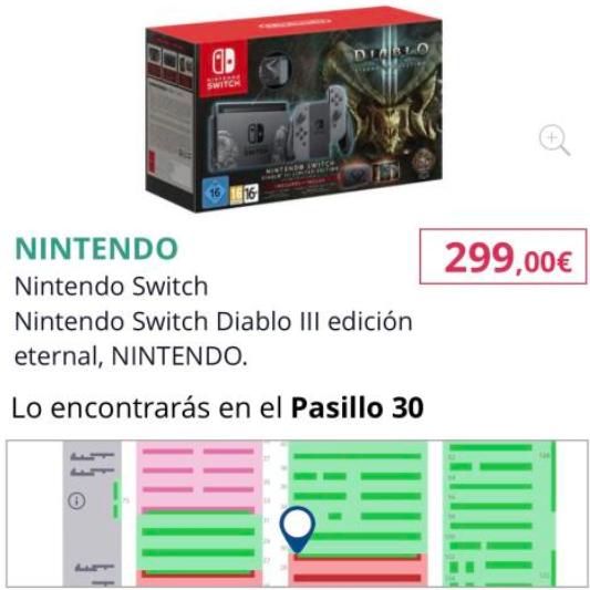 Nintendo Switch Edición Diablo (Moratalaz)