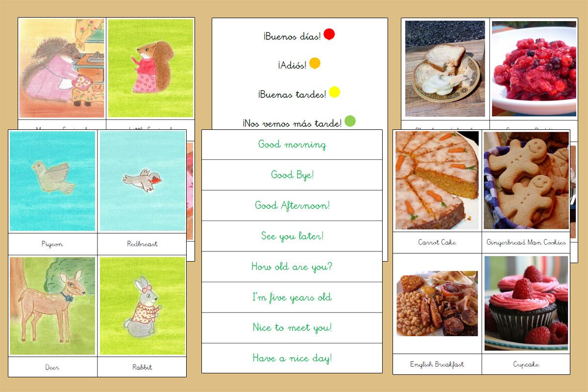 Miles de Imprimibles GRATIS para enseñar a tu peque (Montessori)