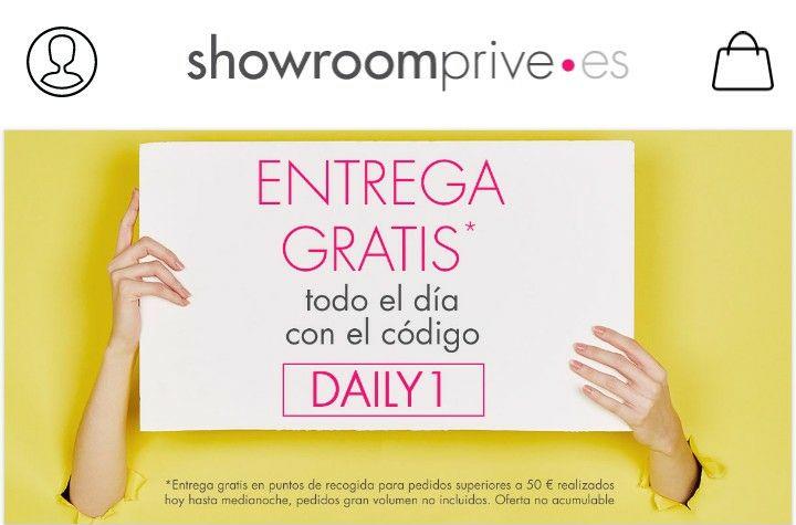 Envio gratuito Showroomprive