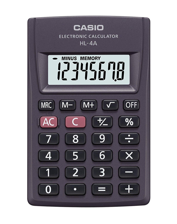 Calculadora sencilla Casio por 2,33€