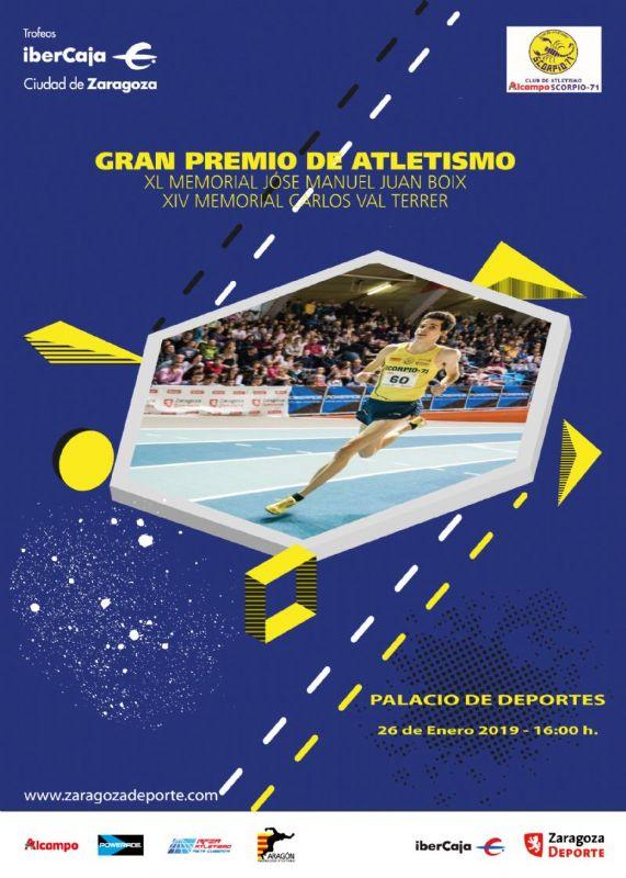 Entrada Gratuita Gran Premio Ciudad de Zaragoza de Atletismo