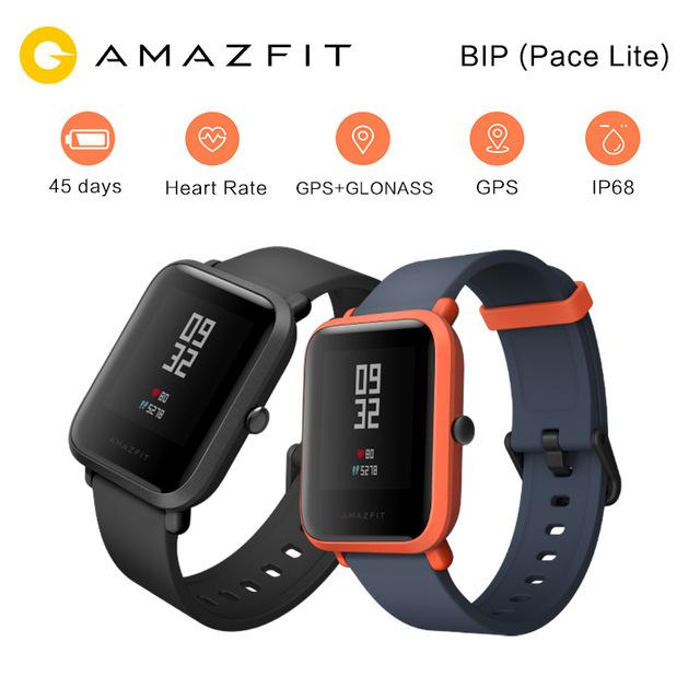 [Versión en inglés] Original Huami Amazfit Xiaomi Inteligente Reloj Ritmo Bip Lite