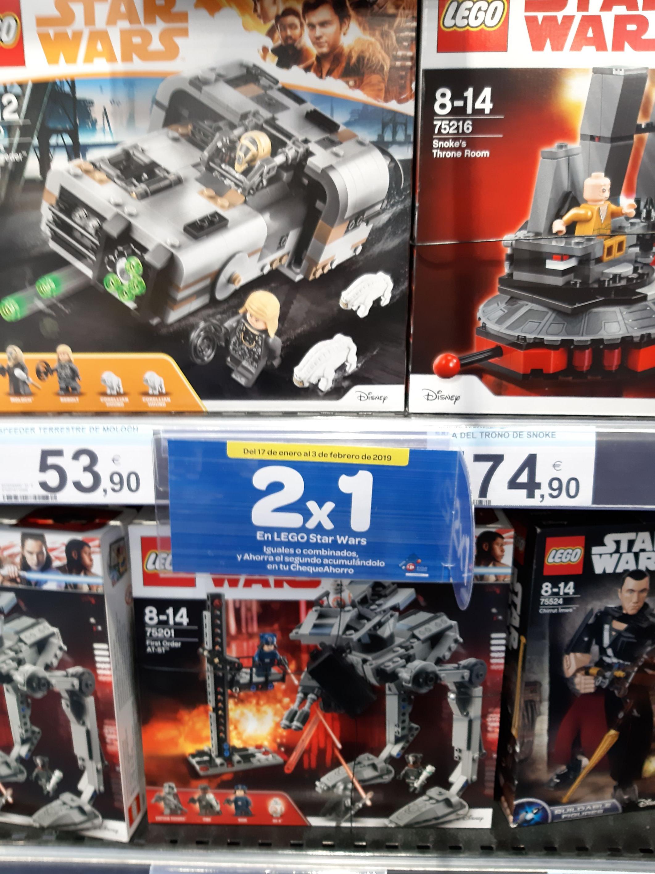 2×1 lego Star Wars
