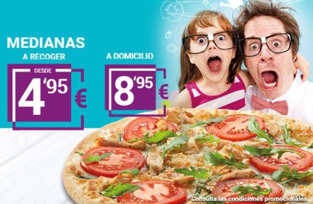 Martes LOCOS Telepizza