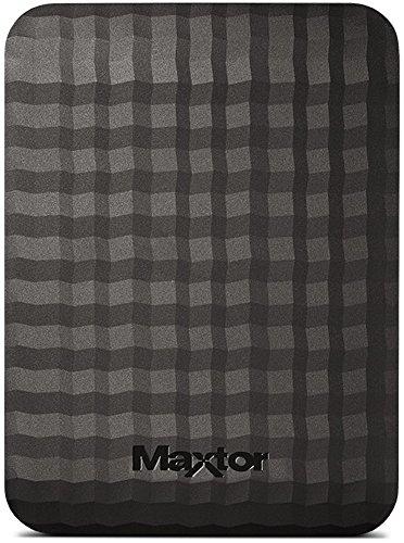 "Maxtor STSHX-M401TCBM - Disco duro externo de 4 TB (2.5"", USB 3.0/3.1 Gen 1), color negro"