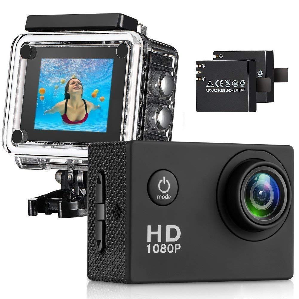 Camara deportiva de acción Full HD 2'' LCD Youbegou 140