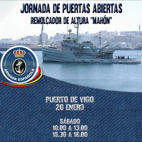 Armada Puertas Abiertas Remolcador Mahón en Vigo