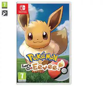 Pokemón Let's go Eevee (Mataró Alcampo)