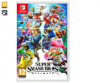Super Smash Bross switch (Mataró Alcampo)