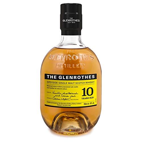 Estuche Glenrothes 10 + 2 Vasos - 700 ml