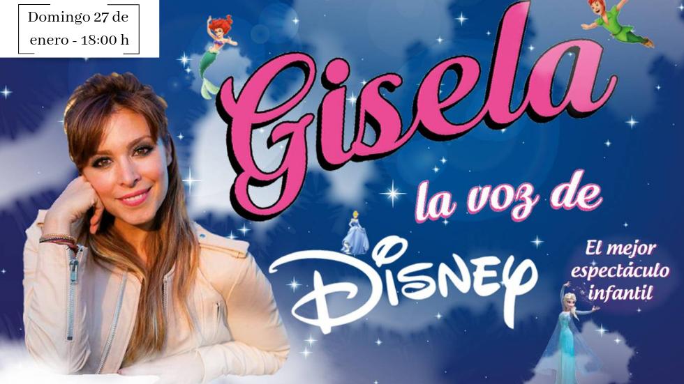 Disney concierto gratuito de Gisela en Badajoz