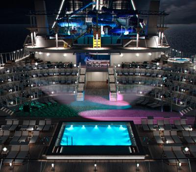 Crucero san valentin MSC - camarote con balcon