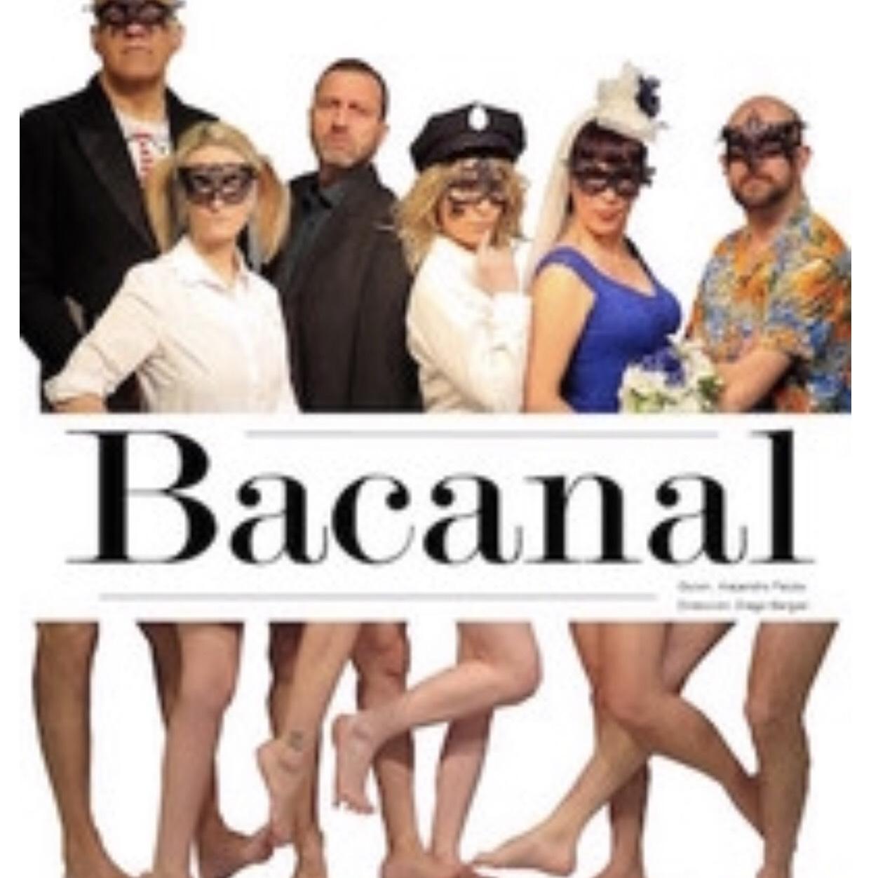 ¡Teatro Bacanal en Estudio Teatro Madrid! Tu decides el precio