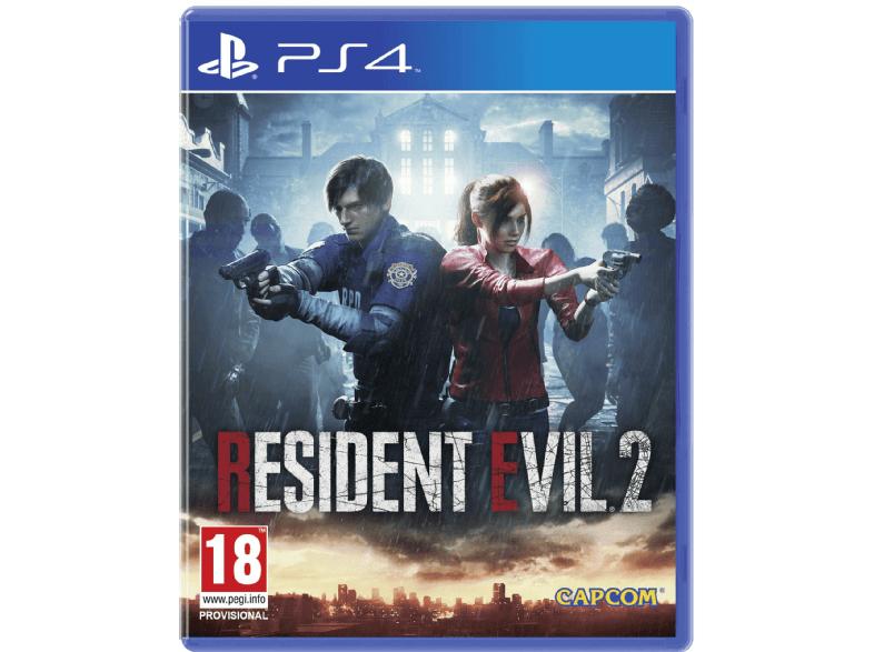 Resident evil 2 Remake de ps4 en Mediamarkt SIN CAMBIAZO
