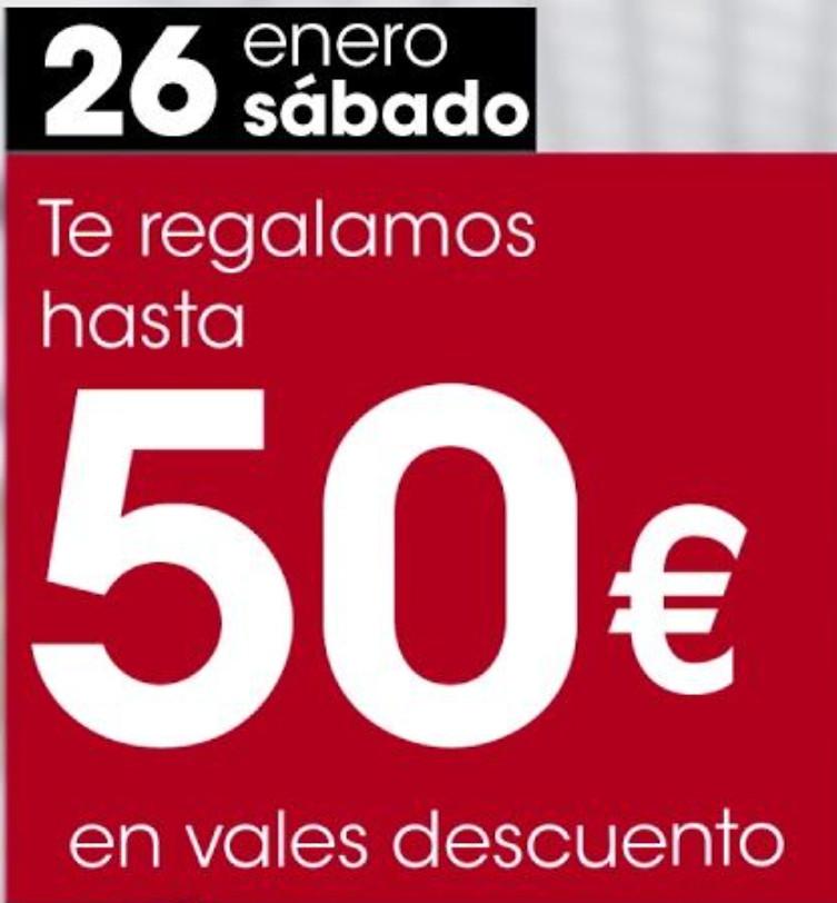 EROSKI (Sábado 26 de enero): Hasta 50€ en vales descuento