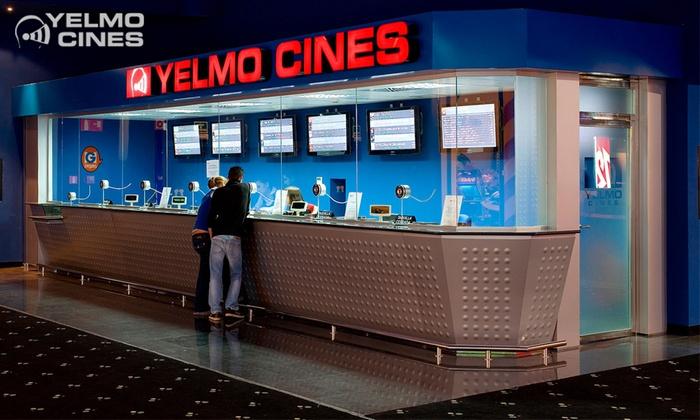 Entradas para Yelmo Cines desde 4,95€ válidas cualquier día, incluso festivos
