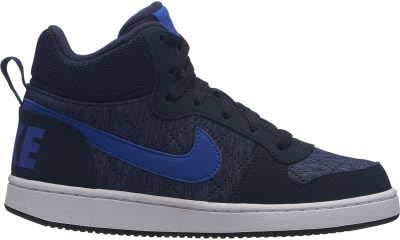 Nike Court Borough Mid Se (GS), Zapatos de Baloncesto para Niños