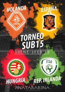 Fútbol Entrada Gratis Torneo Internacional Sub15 en Murcia