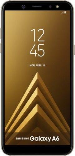Samsung Galaxy A6 32GB+3GB RAM Dorado Libre Nuevo 2 Años de Garantía