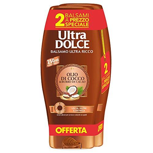 Garnier Ultra Dolce Acondicionador 250 ml [3 paquetes de 2 unidades]