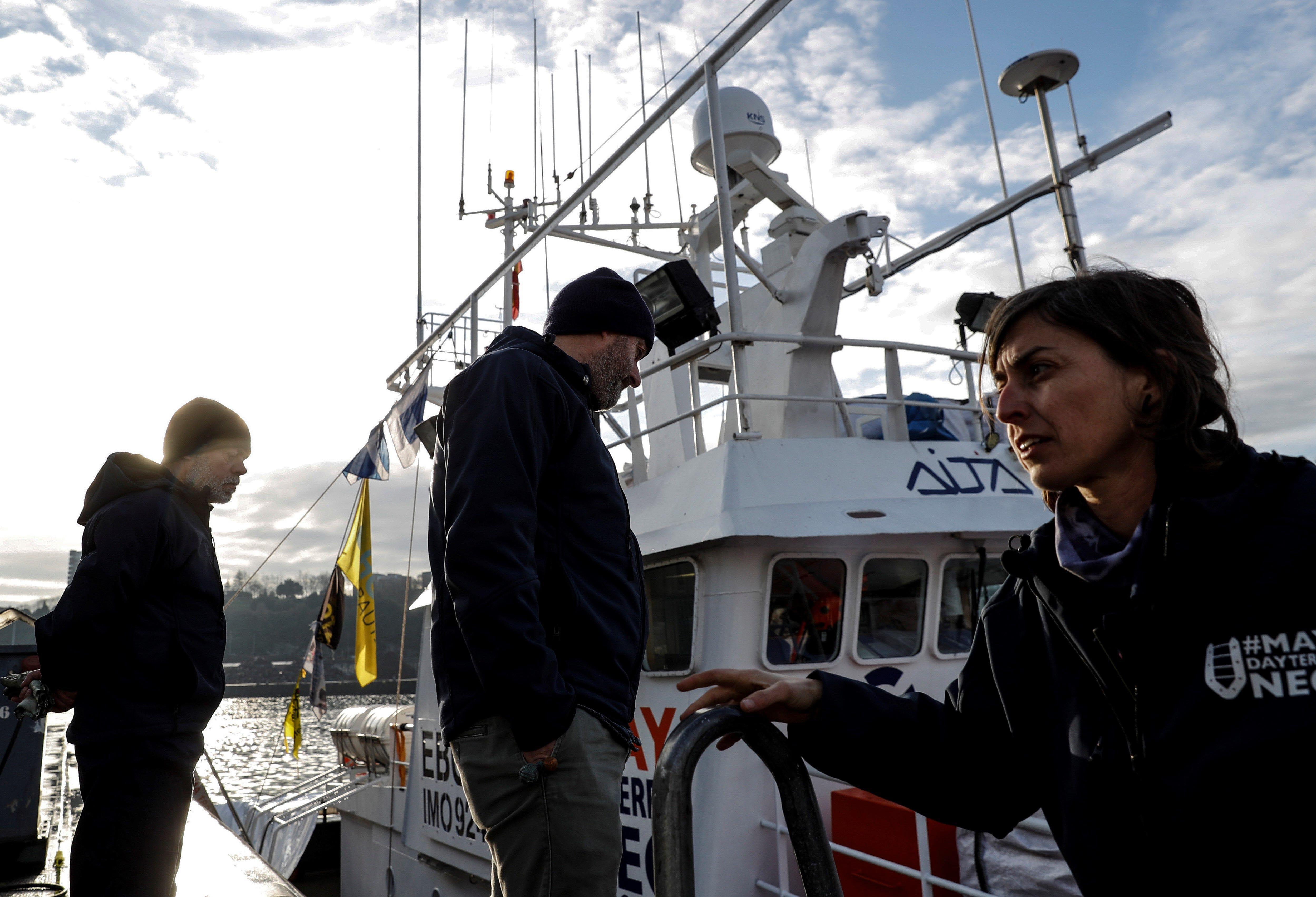 Visita el buque de rescate Aita Mari desde el 28/1 hasta el 1/2 en Santurtzi (BIZKAIA)