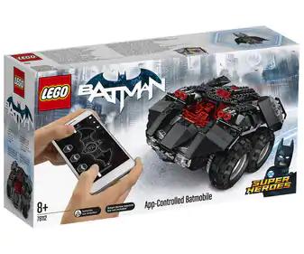 Lego Batmóvil controlado por Smartphone