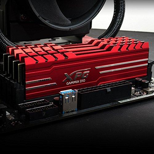 RAM XPG GAMIX D10 DDR4 2400 DIMM 16GB (2x8) Kit Red