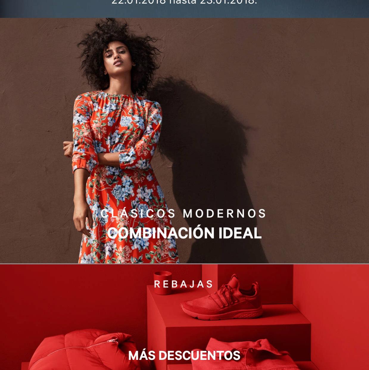 Descuento del H&M 15% y envío gratis hoy y mañana solo en la app