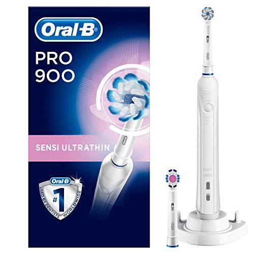 Oral-B Pro 900 - Cepillo de dientes eléctrico, con temporizador