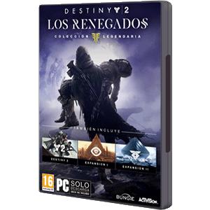 DESTINY 2 LOS RENEGADOS - COLECCIÓN LEGENDARIA con todos los DLC