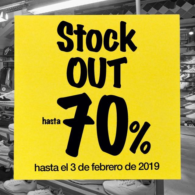 Stock Out en Dooers. Descuentos de hasta el 70%