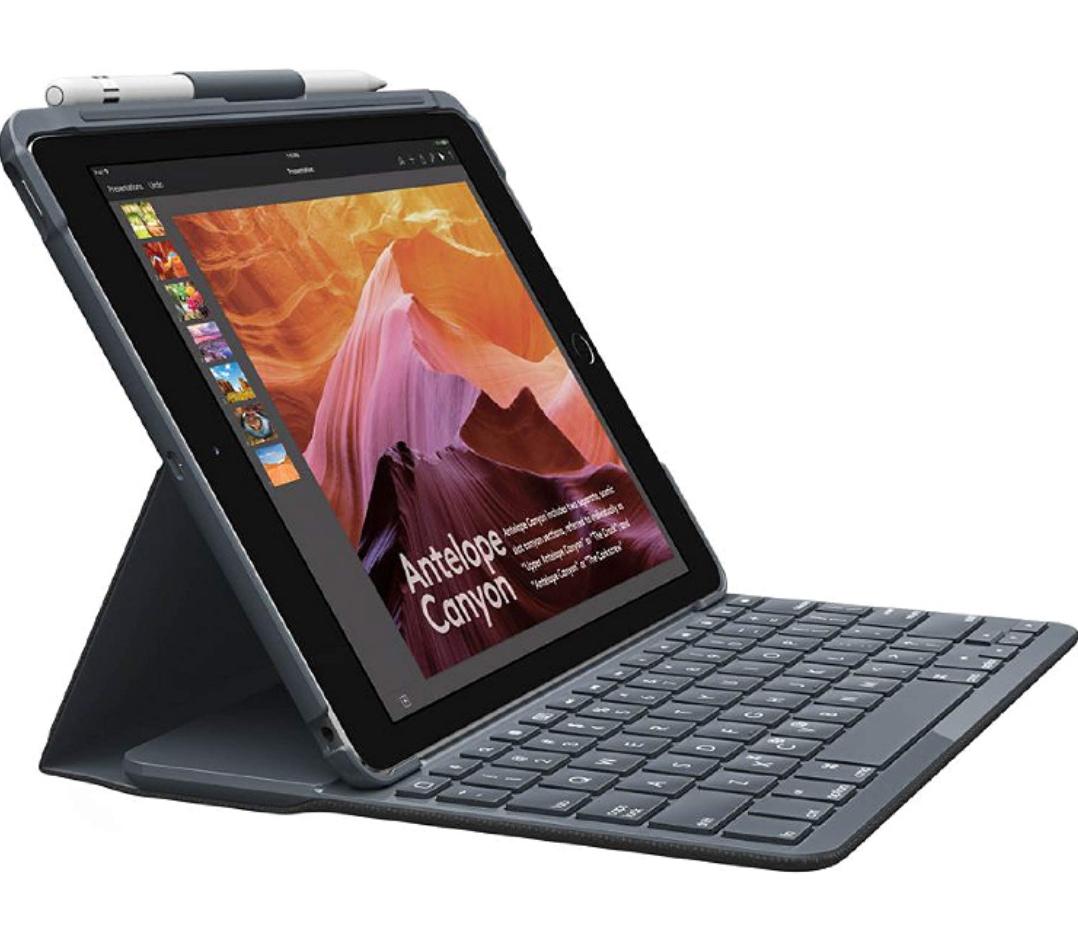 Funda Protectora con Teclado Bluetooth para iPad (5.ª y 6.ª generación)