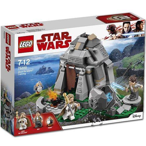 LEGO Star Wars - Entrenamiento en Ahch-To Island (75200)
