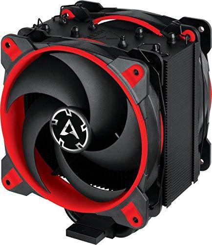ARCTIC Freezer 34 eSports DUO Edition - Enfriador Push-Pull - Motor trifásico silencioso - 200-2100 rpm - 2 ventiladores PWM 120mm - Rojo