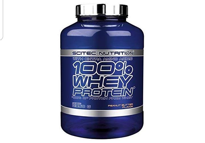 Scitec Nutrition Whey proteína sabor crema cacahuete 2350 g